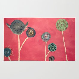 Candy flowers Rug