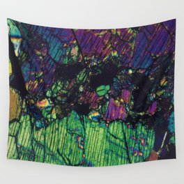 Pyroxene Crystals Wall Tapestry