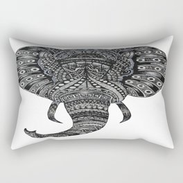 Secrets in the Ivory Rectangular Pillow
