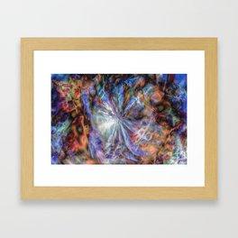 Oort Cloud - Digital Abstract Expressionism Framed Art Print