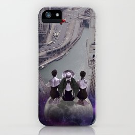 let's look down on everything from the super moon iPhone Case