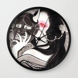 Hanya Geisha Wall Clock
