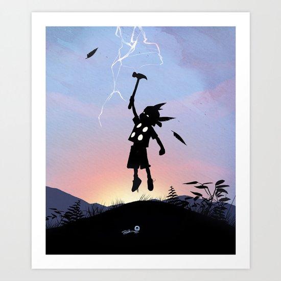 Thor Kid Art Print
