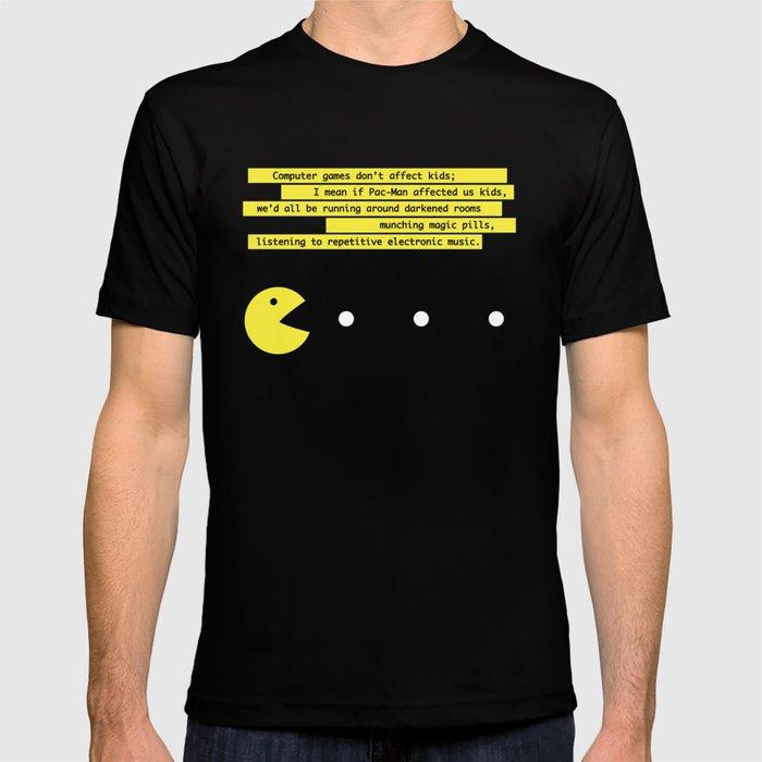 Computer Games Don't Affect Kids T-shirt