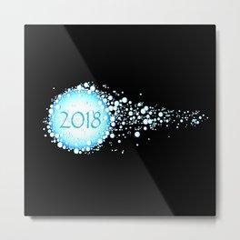 Water Bubbles 2018 Metal Print