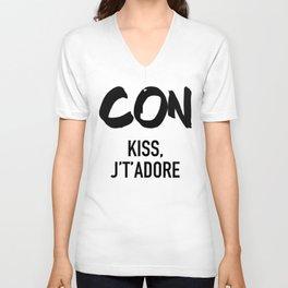 Conquistador - Con Kiss J't'adore Unisex V-Neck