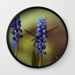 spring lavender Wall Clock