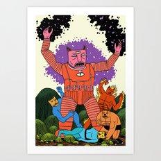 Catastic Four Art Print