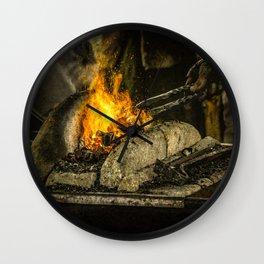 Hot working Wall Clock
