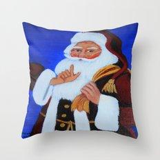 Ho Ho Ho  / Christmas card Throw Pillow