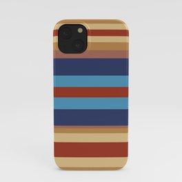 Retro 70s Vintage Surfer - Blue Sand iPhone Case