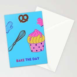 BAKE THE DAY Stationery Cards