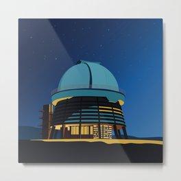 Soviet Modernism: Byurakan Observatory after Viktor Hambardzumyan Metal Print