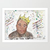 notorious Art Prints featuring Notorious by Seïf Hajem