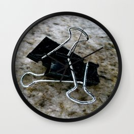 Varicose Attachments. Wall Clock