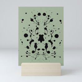 Calm down! Mini Art Print