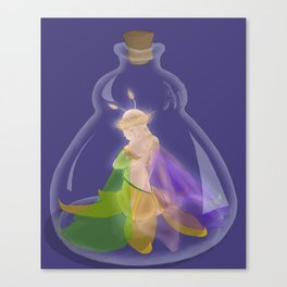 Fairy In A Bottle Canvas Print