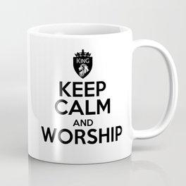 KEEP CALM AND WORSHIP Coffee Mug