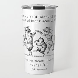 Island of Ignorance Travel Mug