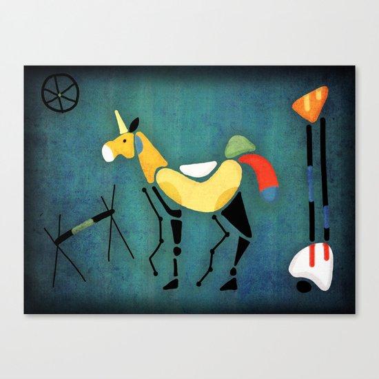 Surrealist Unicorn Canvas Print