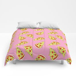 Pizza Pattern By Everett Co Comforters