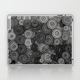 Heavy iron / 3D render of hundreds of heavy weight plates Laptop & iPad Skin