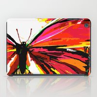 butterfly iPad Cases featuring Butterfly  by Saundra Myles