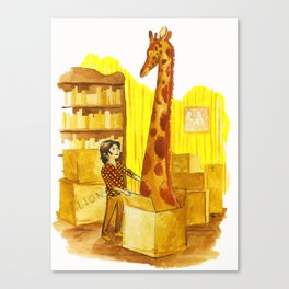 The Menagerie Canvas Print