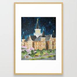 Provo City Center LDS Temple Framed Art Print