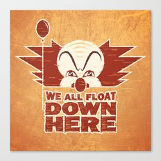 We All Float  Canvas Print