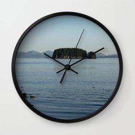 Peaceful Island Wall Clock