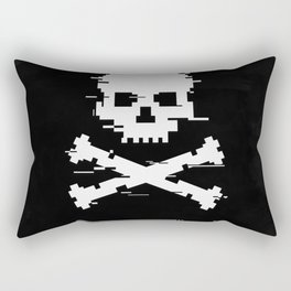 Game over loading glitch Rectangular Pillow