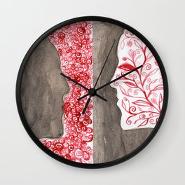 In/Out Wall Clock