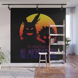 Allmight & Deku Adventures Wall Mural