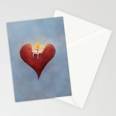 Burning Passion Stationery Cards