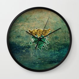 Water - One of the four elements Wall Clock