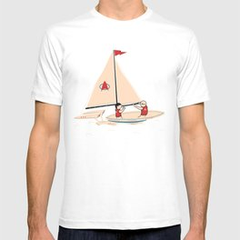 Sailing Towards Future Unknowns T-shirt