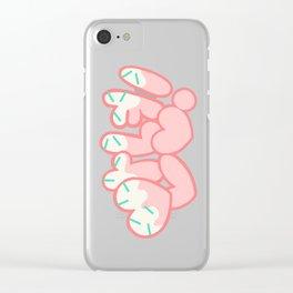 안녕! (Annyeong!) Clear iPhone Case