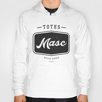 totes Hoodies featuring Totes Masc - Vintage by lessdanthree