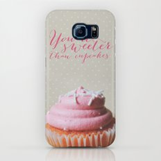 Sweeter than cupcakes Slim Case Galaxy S6
