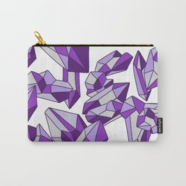 Falling crystals #4 Carry-All Pouch