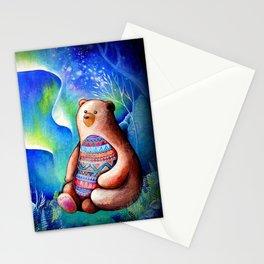 Spirit Bear Tribal Print Stationery Cards