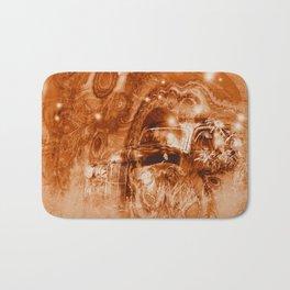 Rusty ghost wreck Bath Mat