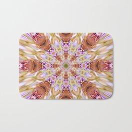 The Buckeye Butterfly Kaleidoscope Bath Mat