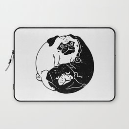 The Tao of Pug Laptop Sleeve