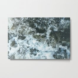 Grand River Splashing Metal Print