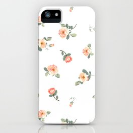 Easy, Breezy Floral iPhone Case