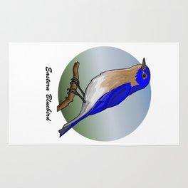 EASTERN BLUEBIRD Rug