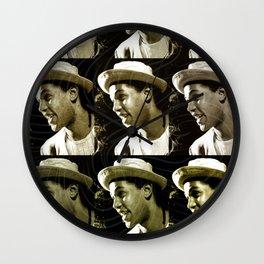 Jazz Heroes Series - Dextér Gordon Wall Clock
