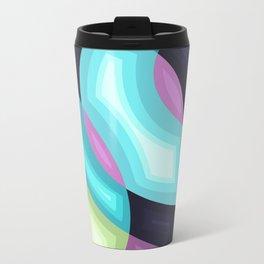 Abstraction 1 Metal Travel Mug